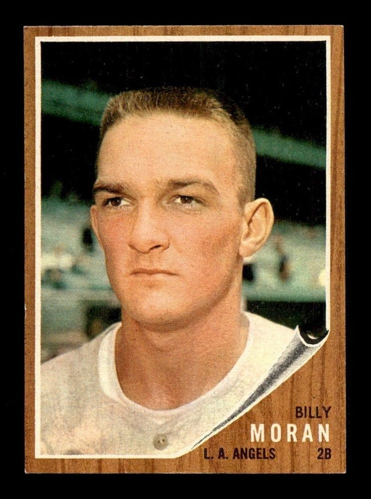 1962 Topps 539 Billy Moran NM X1310080 LosAngelesAngels