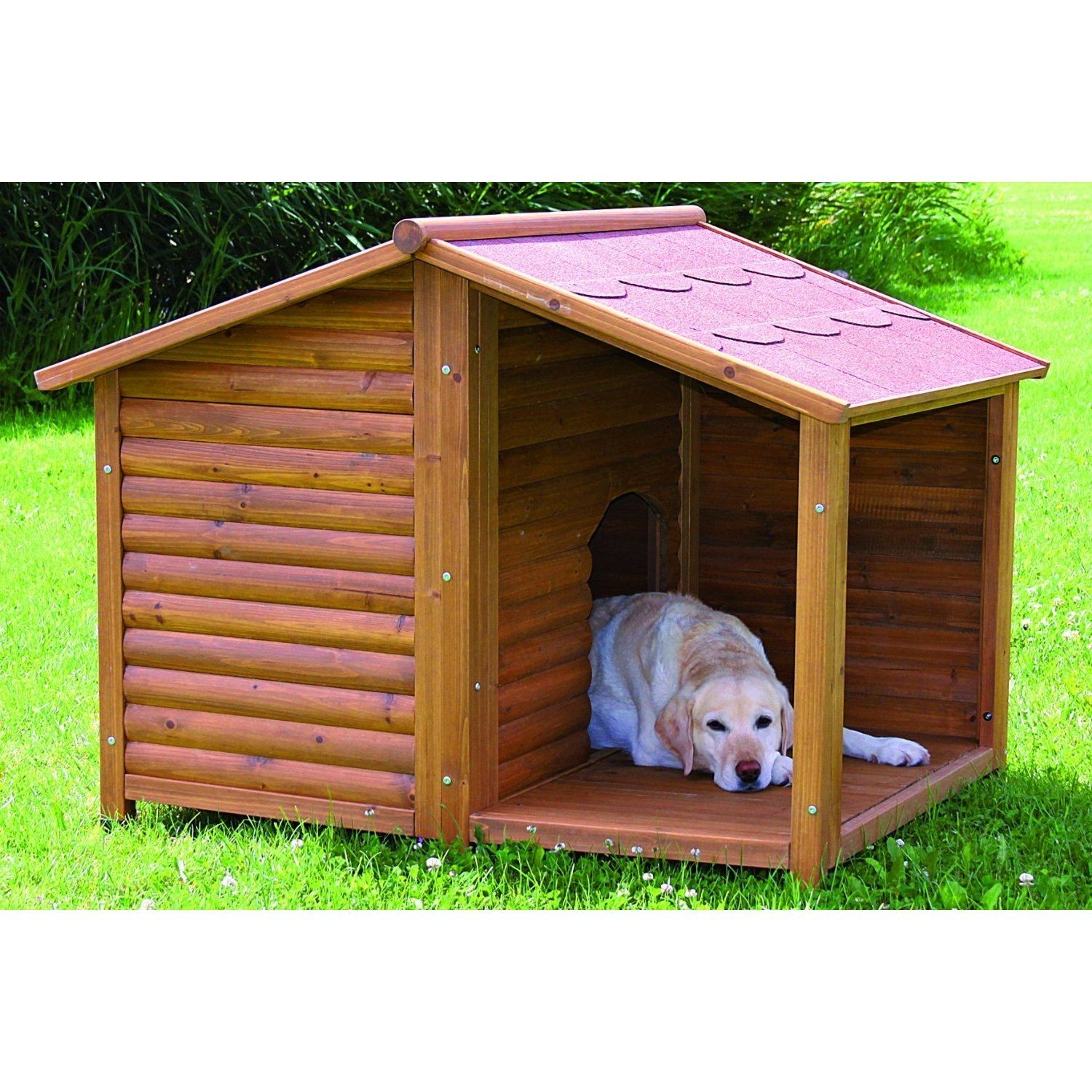 Natura Rustic Dog Houses Rustic Dog Houses Large Dog House