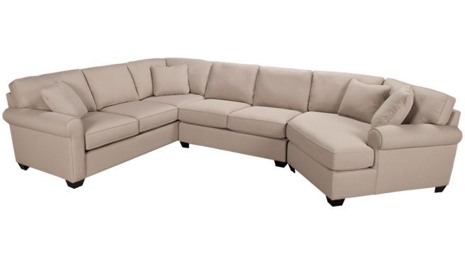 Max Home Cuddler 3 Piece Sectional Jordans Furniture Sectional Furniture Leather Living Room Set