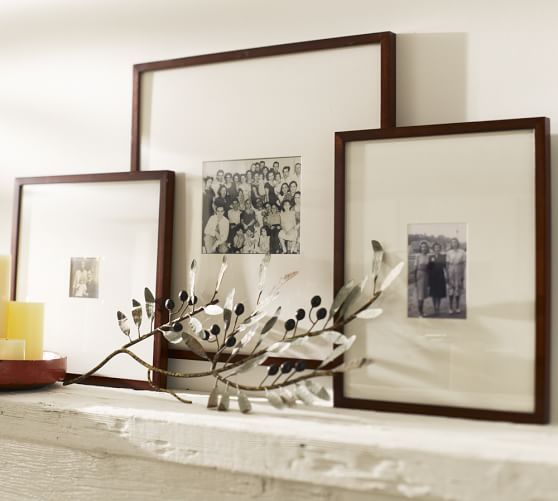 Wood Gallery Oversized Mat Frames | Pinterest | Pottery, Barn and Woods