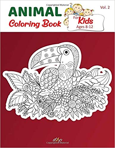 Animal Coloring Book For Kids Ages 8 12 Cute Funny Mandala Animal Picture Book Enjoy Animal Color Animal Coloring Books Coloring Books Mandala Coloring Books