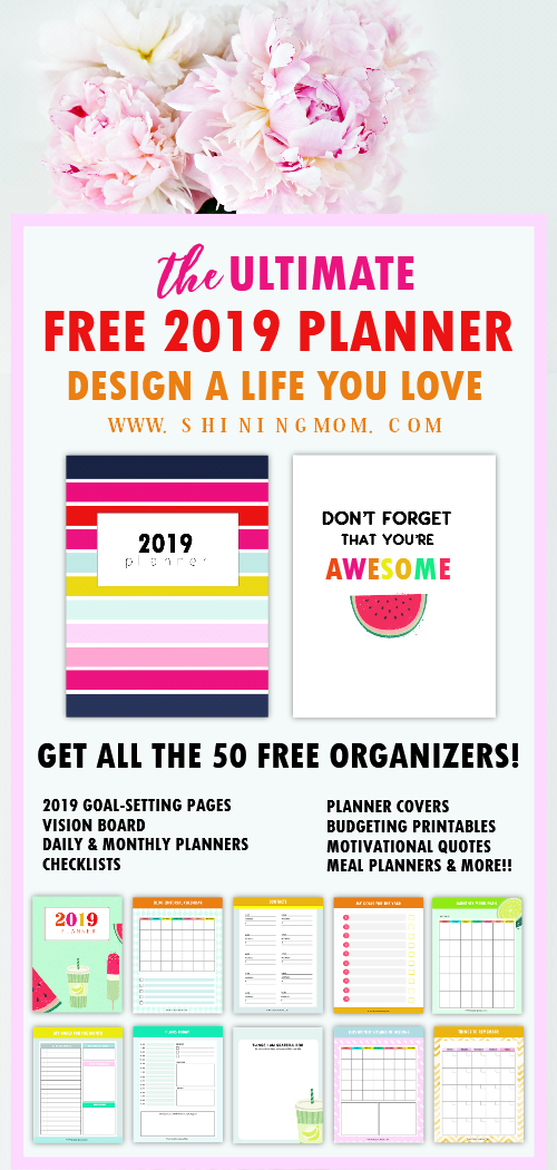 The Ultimate FREE Planner 2019 Design a Life You Love