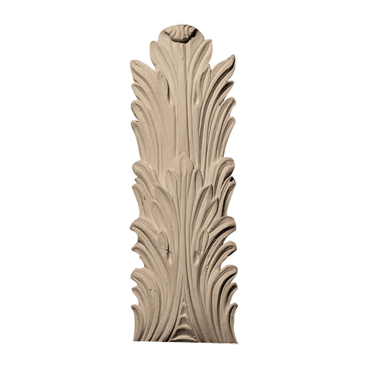 Approx 4 3 4 Inch X 13 3 4 Inch X 1 2 Inch Leaf Wood Appliques Molding And Millwork Wood Carving