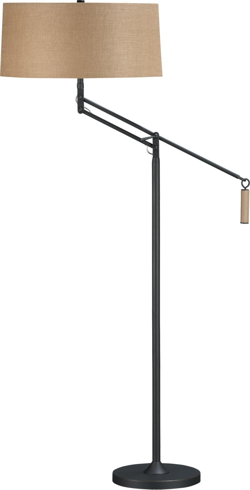 Autry Floor Lamp in Floor Lamps, Torchieres | Crate and ...