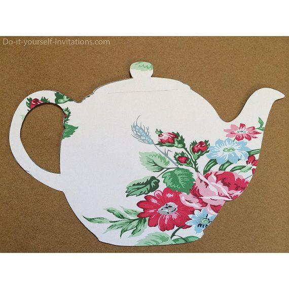 free tea party invitation gse bookbinder co