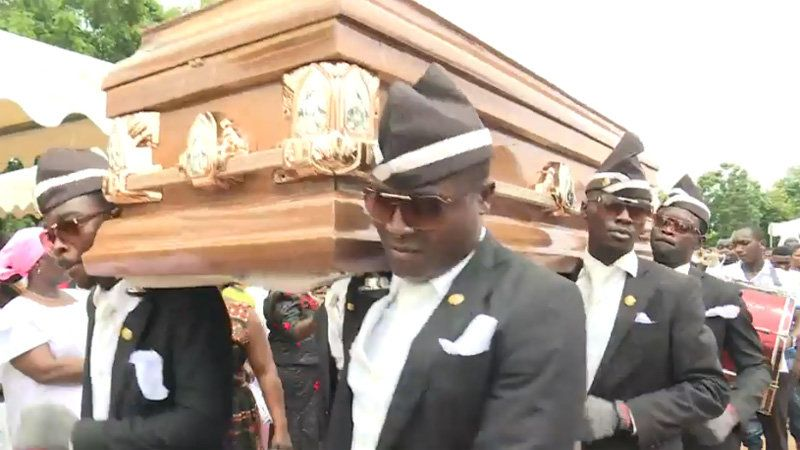 Coffin Dance Dancing Pallbearers In 2020 First Youtube Video Ideas Intro Youtube Youtube Editing