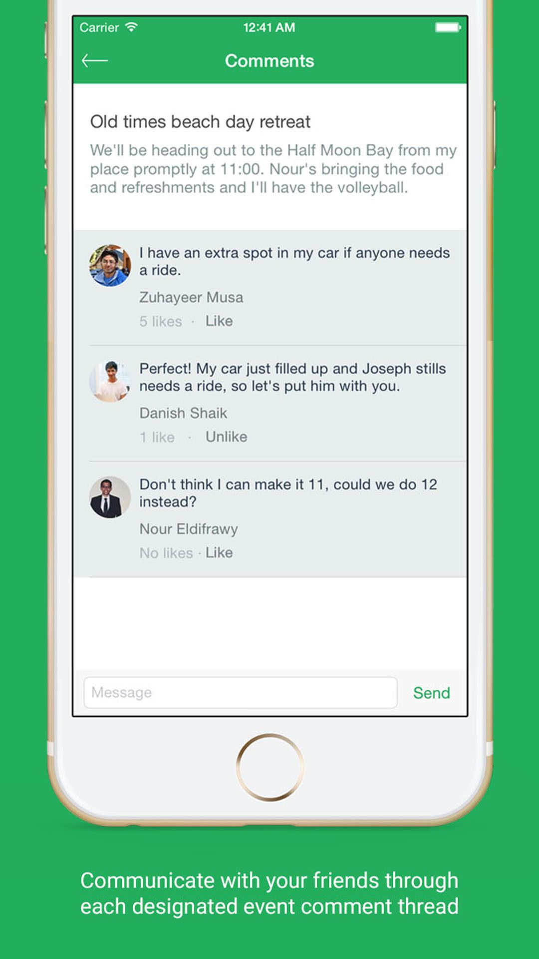 Bash For iOS Makes It Easy To Organize Hangouts With