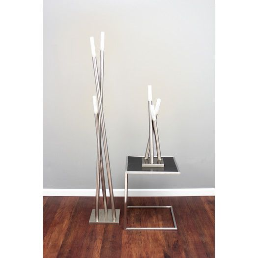 Am studio contemporary icicle floor lamp