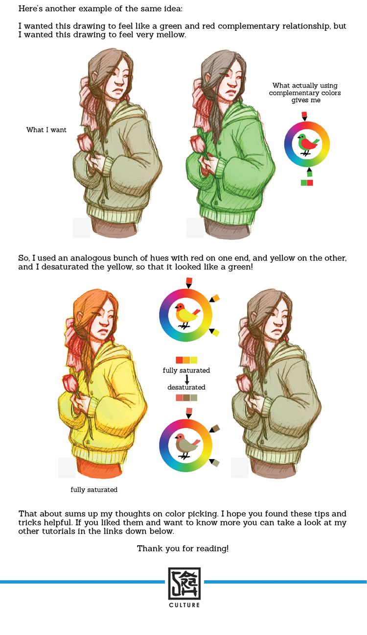Sarahculture Color Tutorial Part 4 Picking And Palettes 1 Value