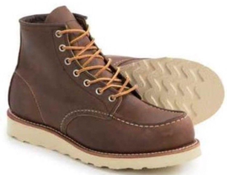 b2392806707 Red Wing Heritage Classic Moc Toe Bourbon Yuma #8880 - FIRST QUALITY ...