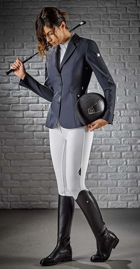 ffd95b4c92e Equiline Ladies Show Jacket Gioia is the latest Equiline competition jacket  for ladies. Available in Black