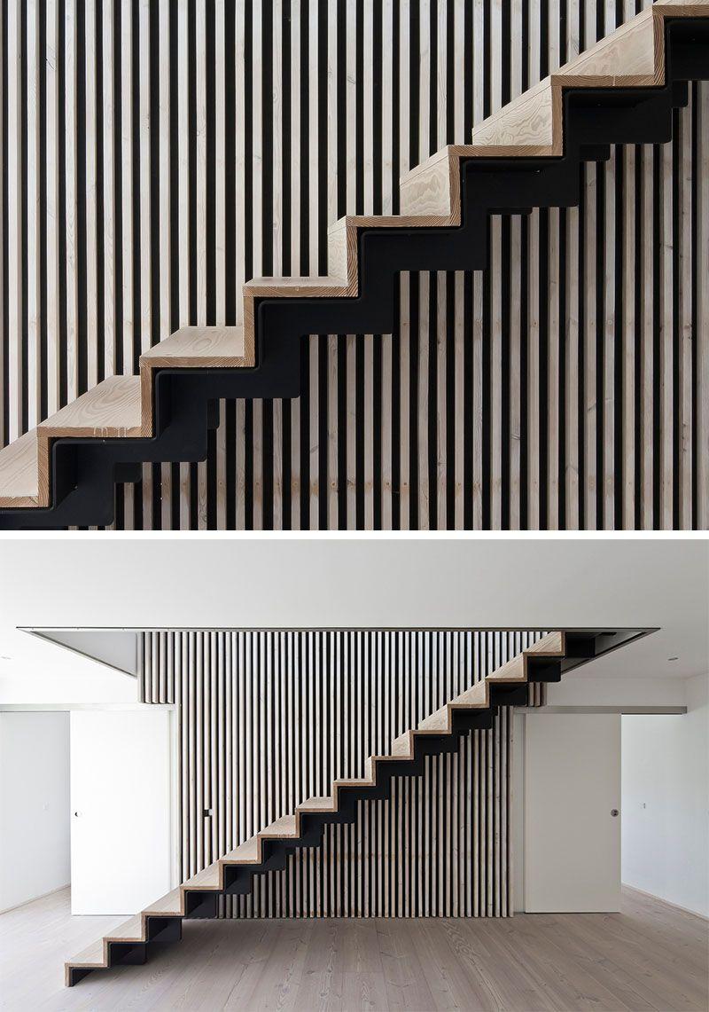 Escalier Bois Metal Noir escalier intérieur design- la beauté est dans les détails