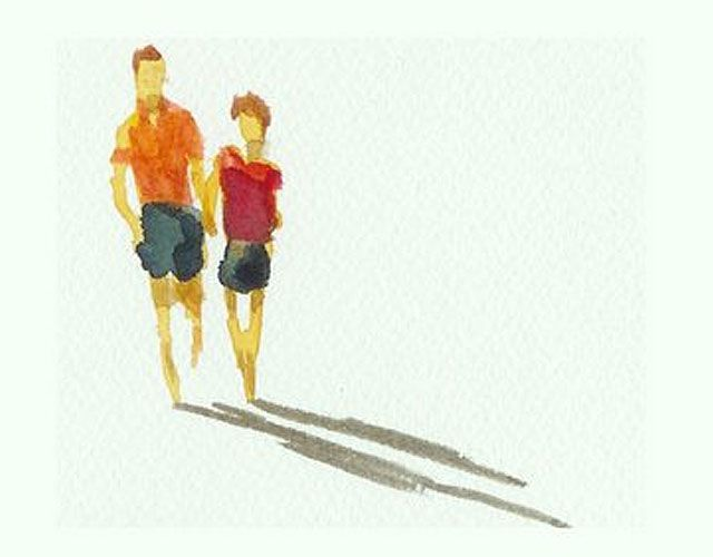 Adding Figures To Your Paintings is part of Watercolor paintings, Painting people, Watercolor tips, Painting tutorial, Watercolor sketchbook, Painting - Facebook Pinterest Google+