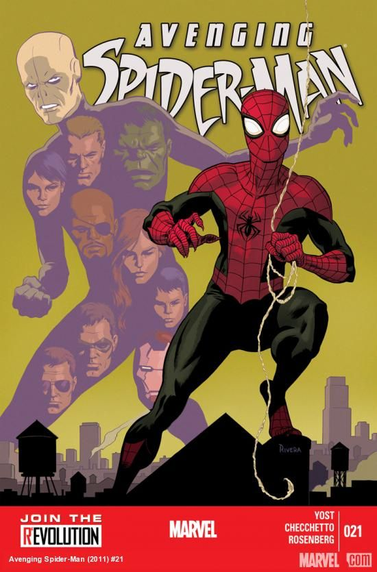 Comic Book Review Avenging Spider Man 21