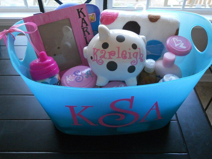 Personalized gift baskets facebookacdesigns ac designs ac designs hand made giftskids giftsbaby giftsvinyl negle Images