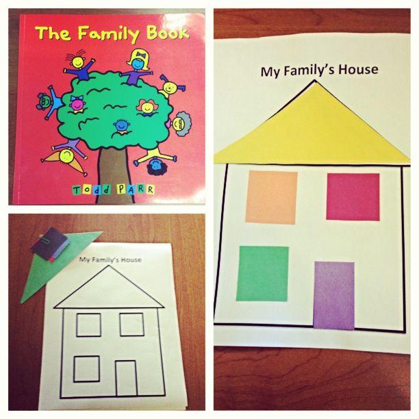 Family Activities: Preschool Family Lesson Plan Activity