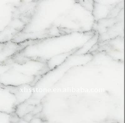 Carrara White Granite (kitchen countertops)