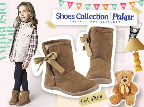 Botas para niñas  Invierno  Shoes Collection Pakar
