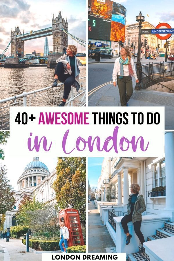 40+ Awesome Things to do in London. London is an incredible city with loads of fun things to do. In this London bucket list I've listed all the best things to do in London, divided by area and for every type of traveller. Discover the ultimate London bucket list! #london #londonbucketlist #londontraveltips #uk #europe