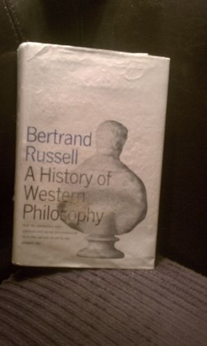 The History Of Western Philosophy By Bertrand Russell Western Philosophy History Nonfiction Books