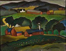 Erik Olson, del paisaje de Vápno de 1919
