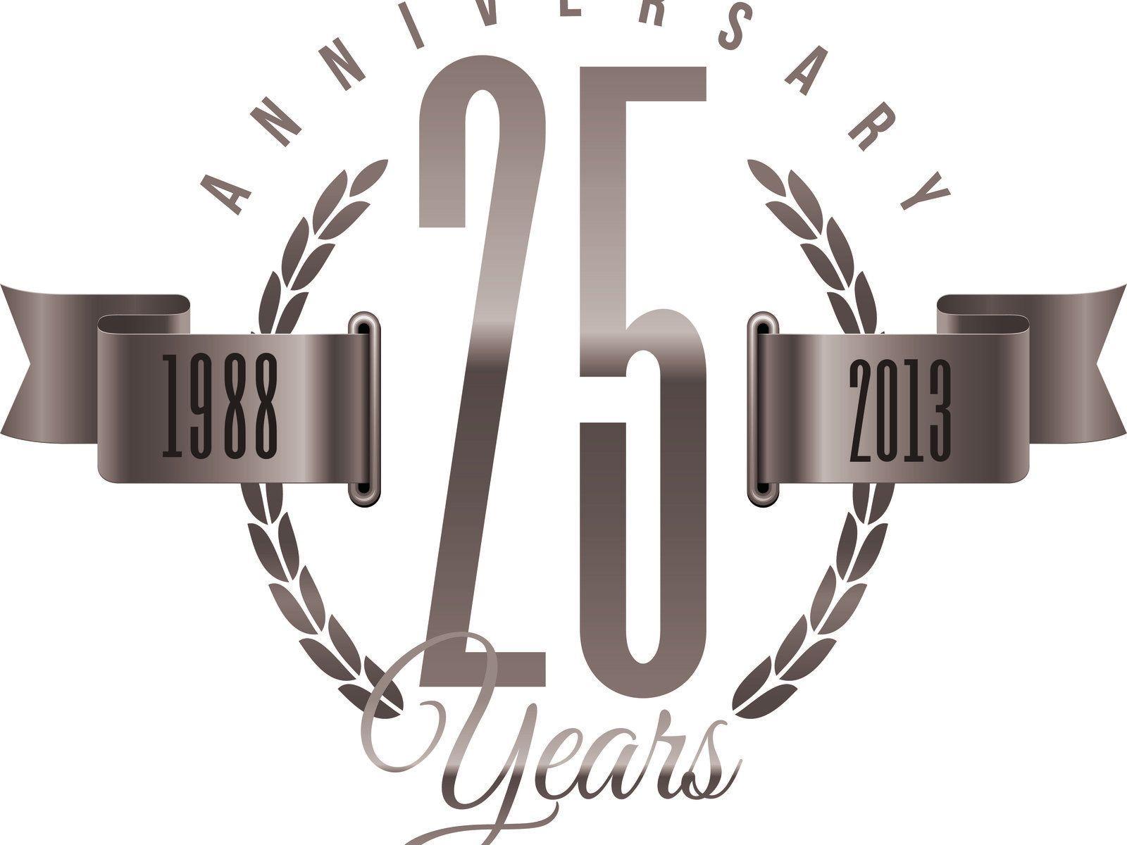 anniversary logos google search gala ideas 2016 25th Anniversary Graphics 25th Wedding Anniversary