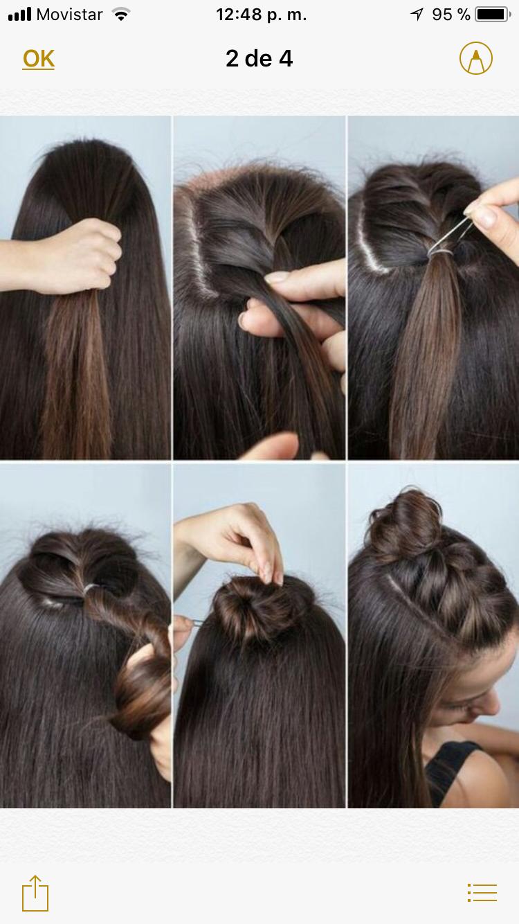 How to chestnut a style bun