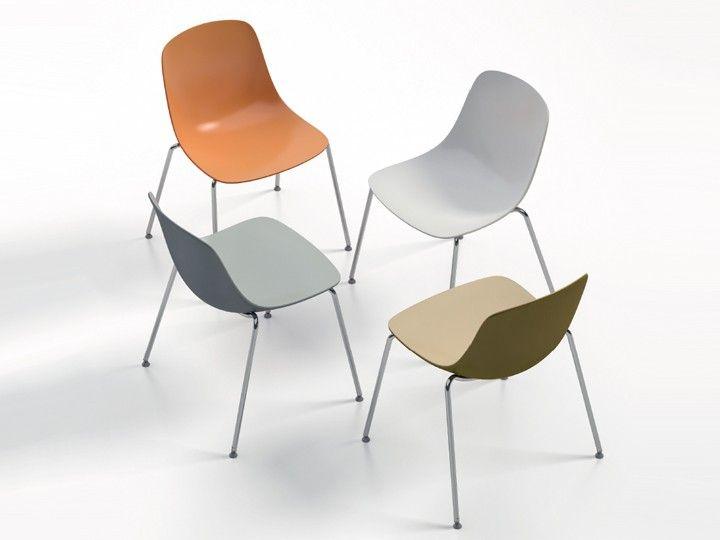 7 Farbkombinatione, Stapelbar bis 7 Stühle Design by Claus Breinholt ...