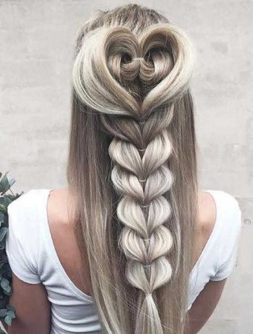 Mermaid Hairstyles Mermaid Loop Through Braid  Mermaid Hair Trends  Pinterest