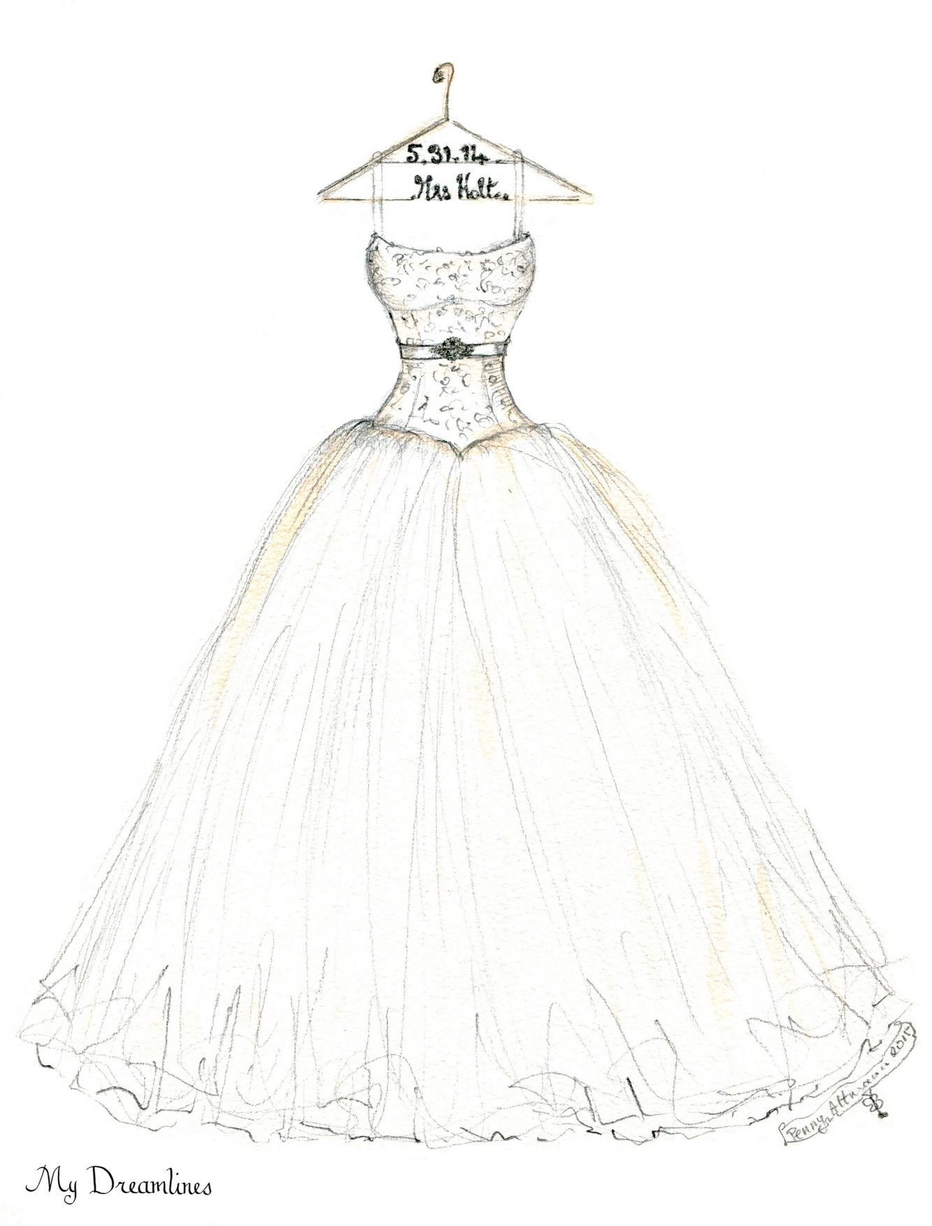 70+ How to Draw Wedding Dresses - Wedding Dresses for Plus Size ...