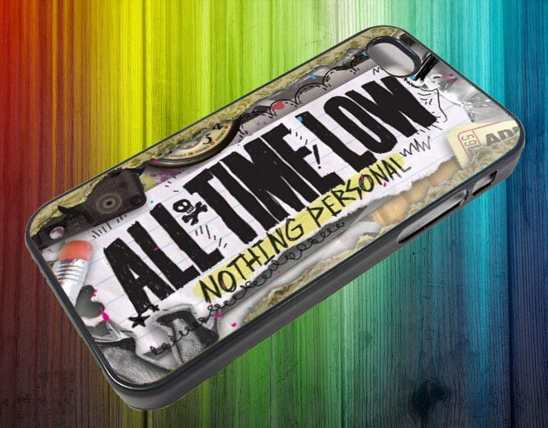 sm413 All Time Low Nothing Personal for IPhone Case Apple