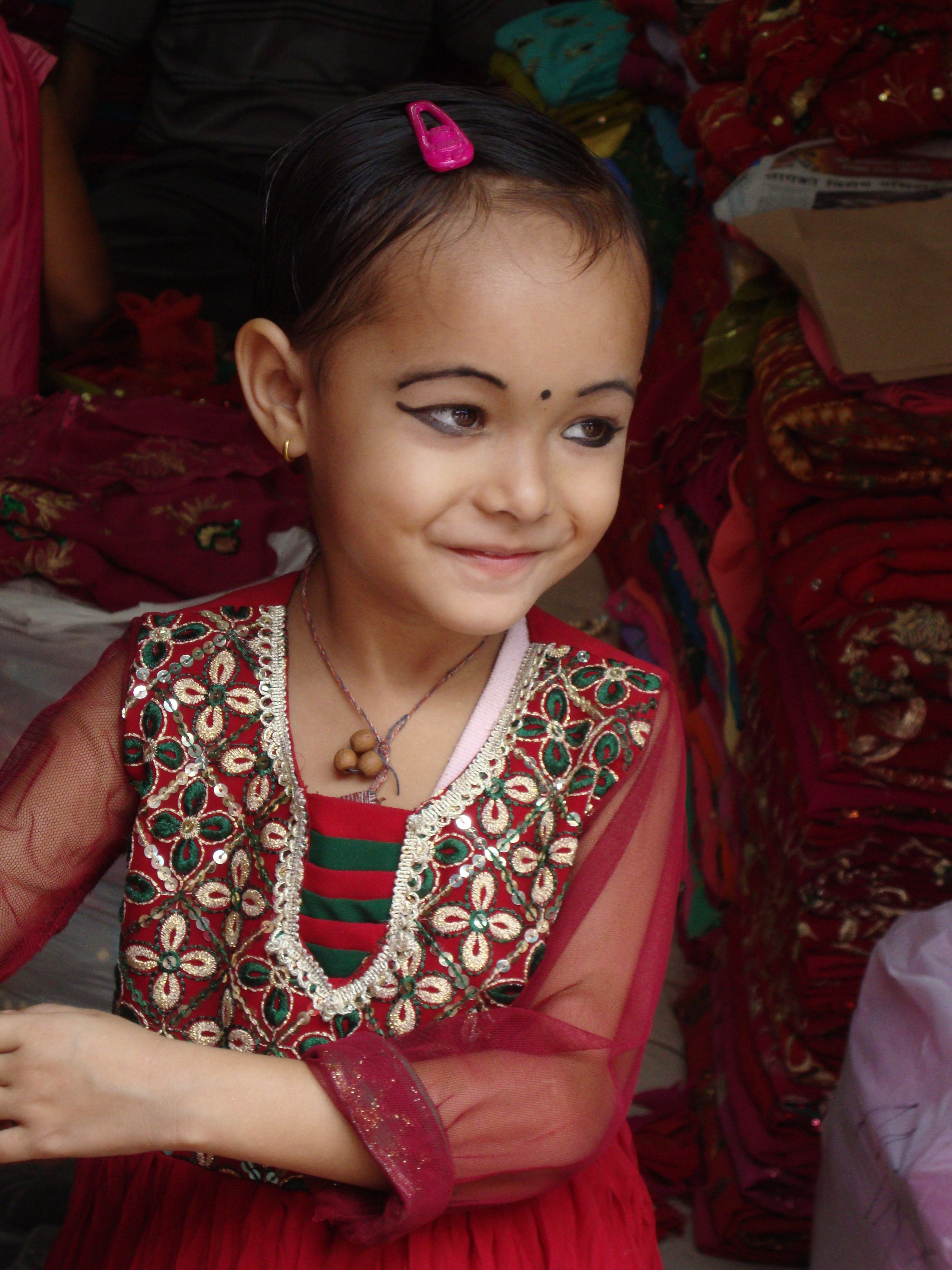 Diosa viviente nepal india pinterest india