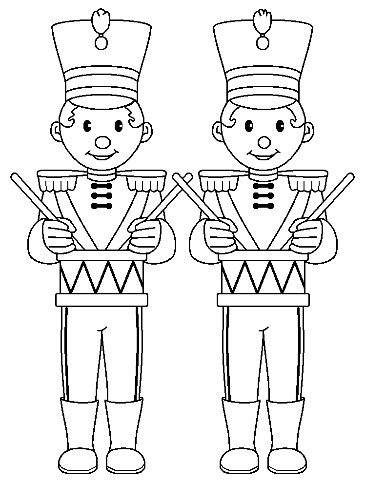 Drummer Boys Dz Doodles Digital Stamps Christmas Pinterest