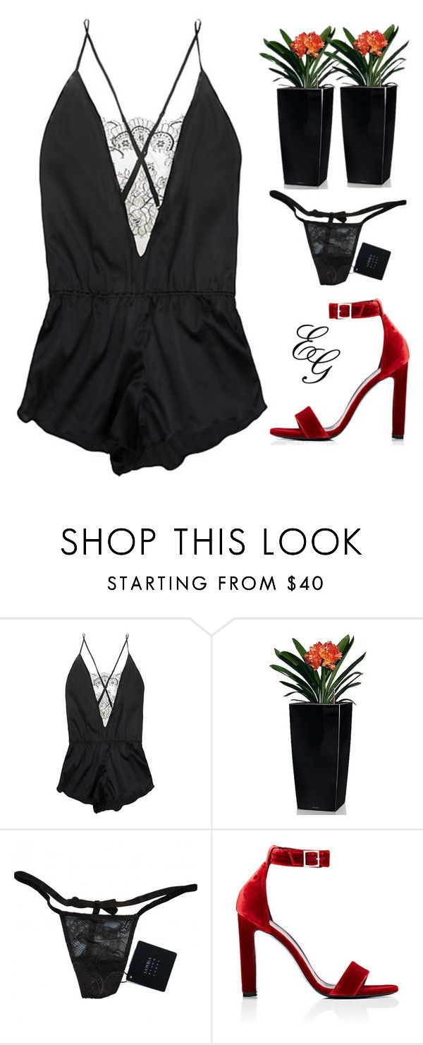 """And When The Lights Start Flashing Like A Photobooth"" by alliedaddysgirl ❤ liked on Polyvore featuring SALUA, Lechuza, La Perla and Yves Saint Laurent"