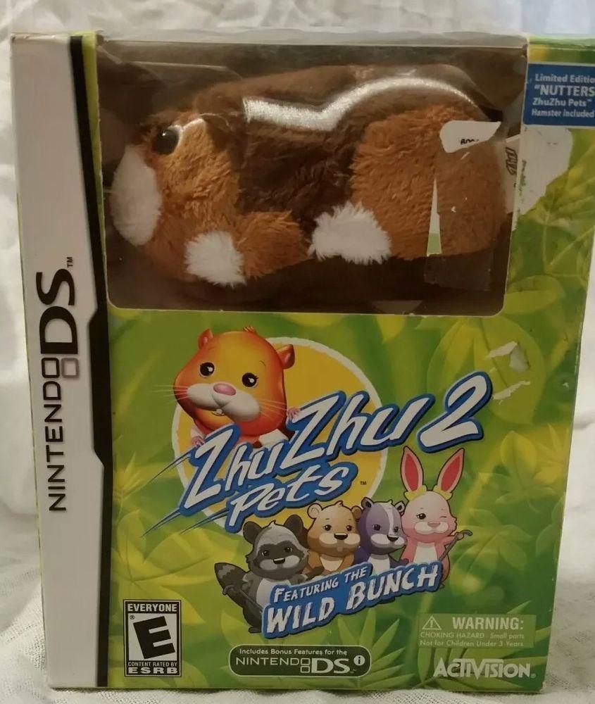 Zhu Zhu 2 Pets Featuring Wild Bunch Bundle Nintendo Ds Game And