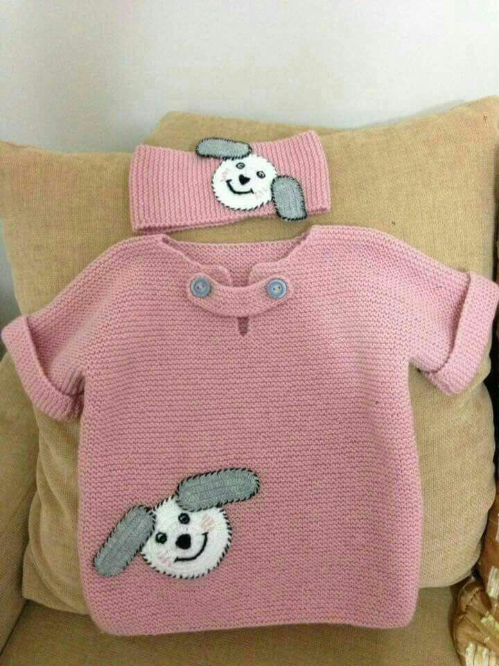 Harasco Gestrickte halbe Hülsenfigur Kinderpulli ... #childrenssweaters