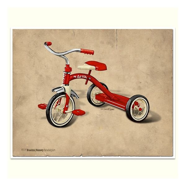 vintage trike gicl e print motor bikes pinterest. Black Bedroom Furniture Sets. Home Design Ideas