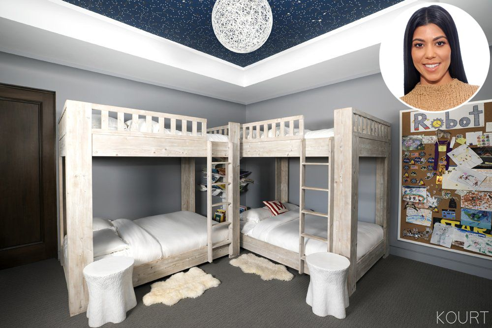 See Inside Kourtney Kardashian S Son Mason S Bedroom Kardashian Bedroom Kardashian Home Celebrity Nurseries