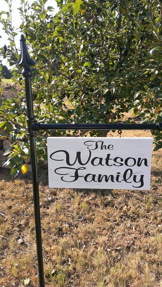 Yard Signs Personalized 1 By Signchik On Etsy Custom Yard Signs