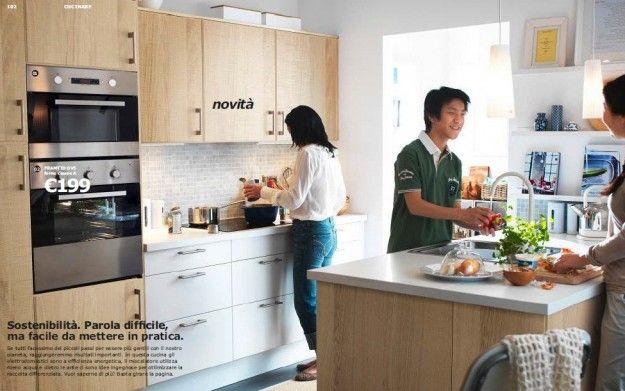 Catalogo Ikea cucine 2013 - Ikea cucina Applad-Norje-Faktum | Cucina ...
