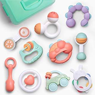 Amazon Es Juguetes De 0 A 6 Meses Sonajeros Juguetes Para Bebé Juguetes Geniales