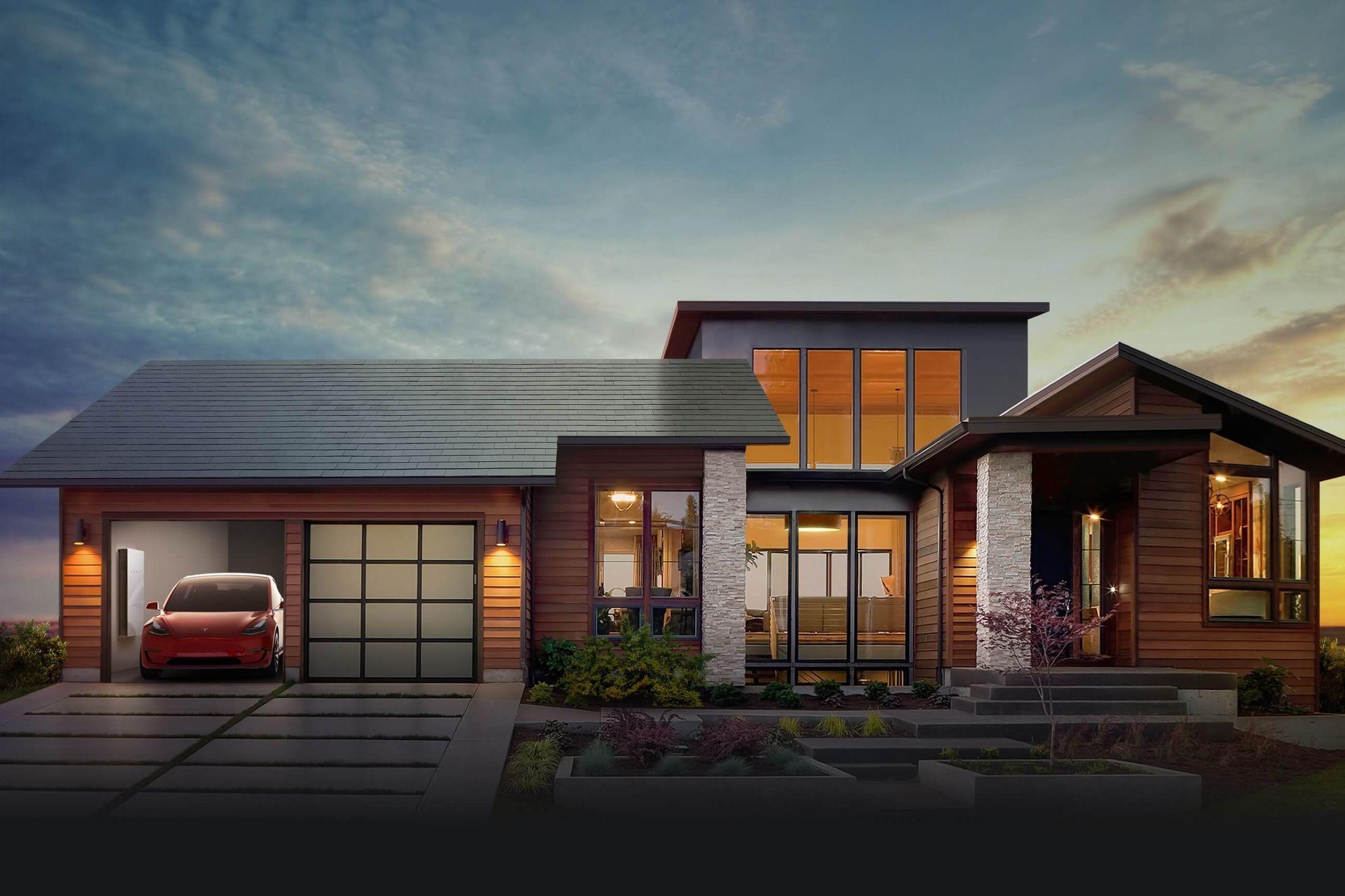 Tesla Will Start Taking Solar Roof Tile Orders In April Solar Roof Shingles Tesla Solar Roof Solar Shingles