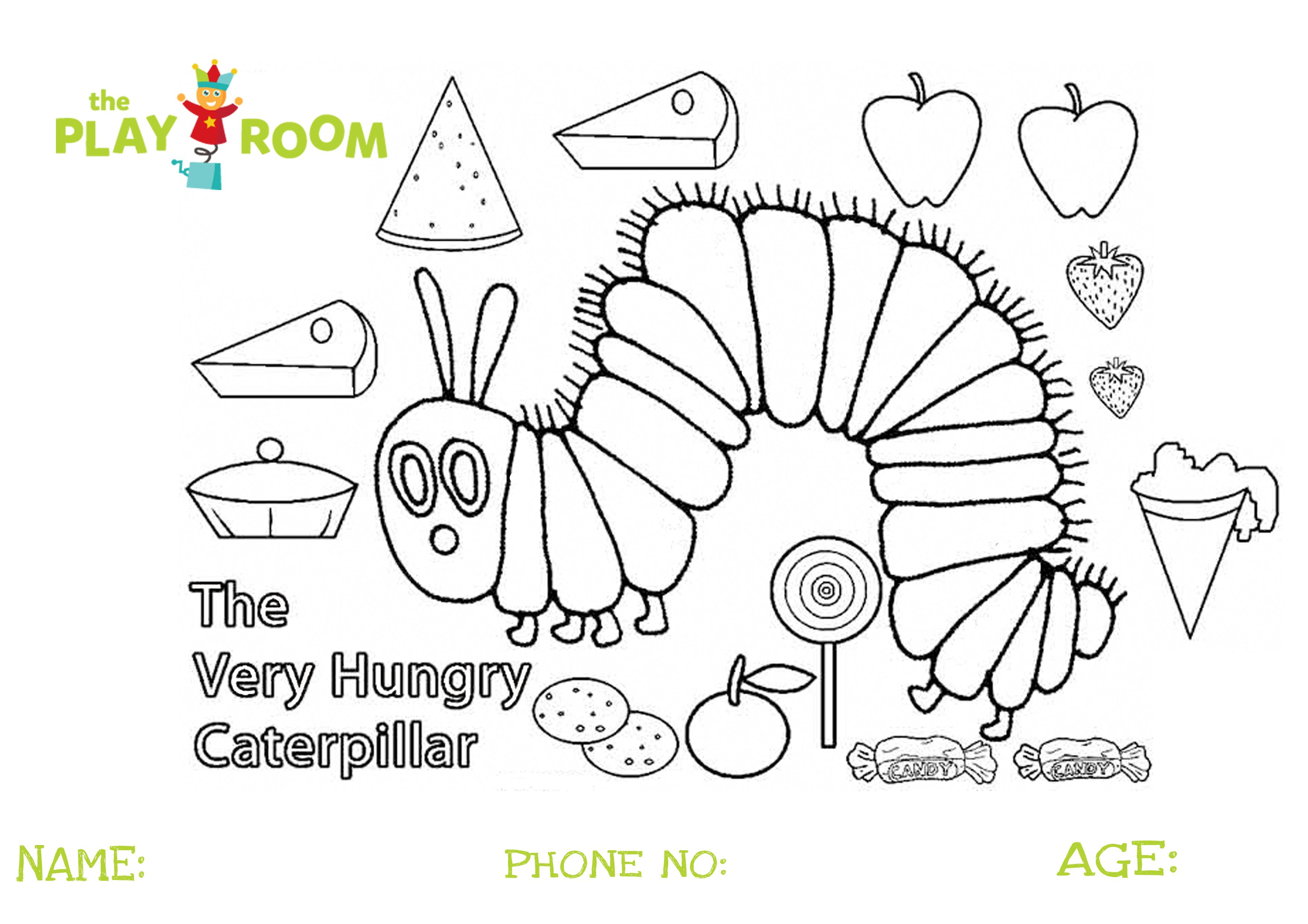 Have You Entered Our Very Hungry Caterpillar Colouring C Hungry