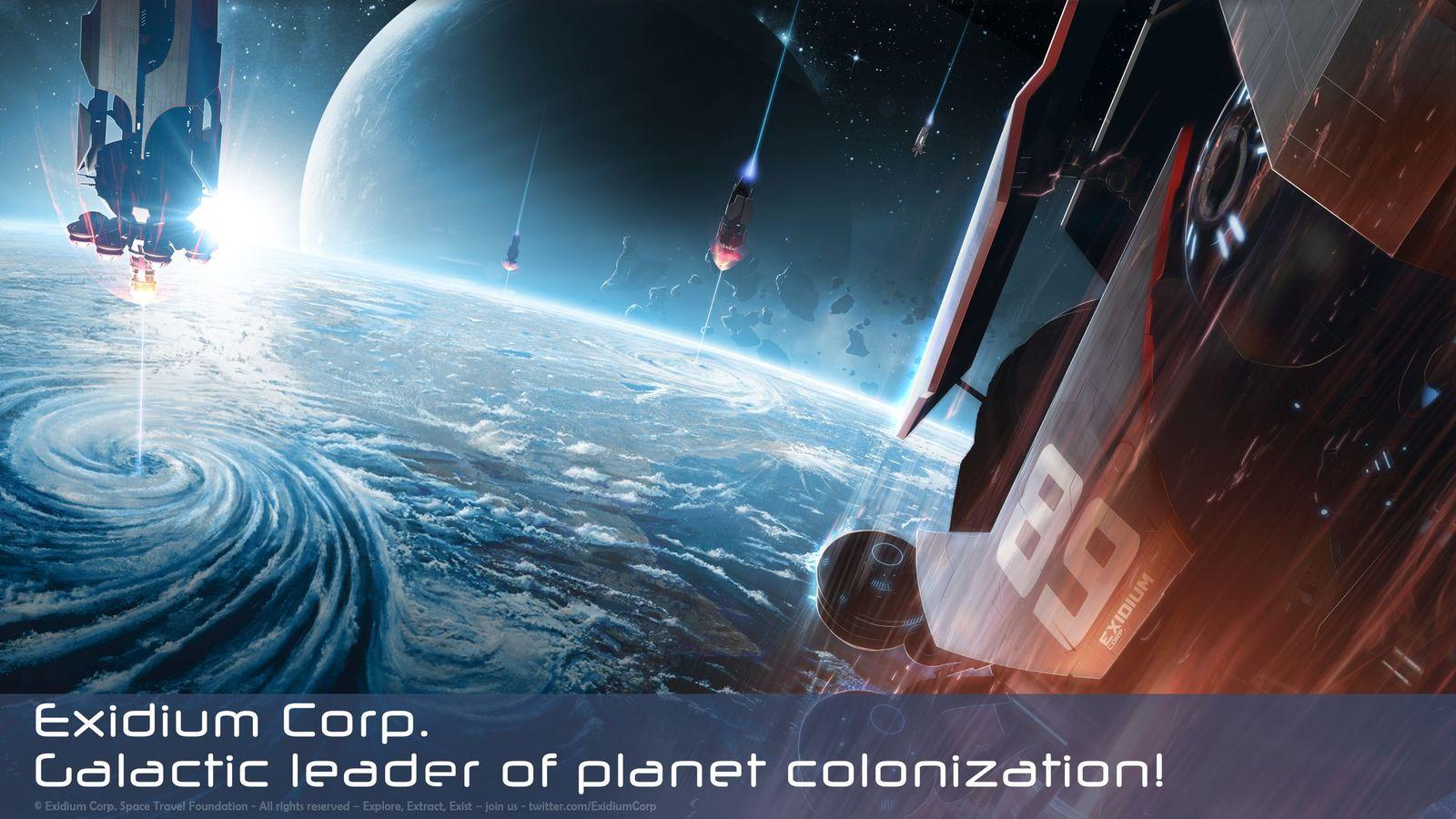 Exidium Corp... planet terraforming...