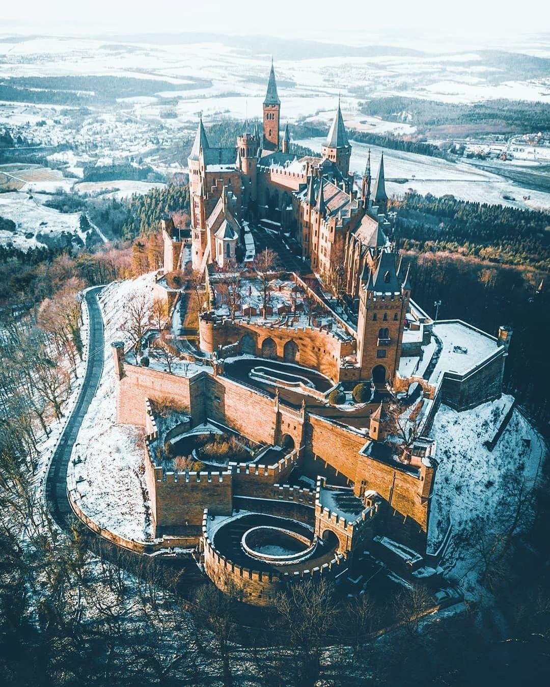 Winter Wonderland At Hohenzollern Castle Baden Wurttemberg Germany Photo By Marcelsiebert Nature Deutschland Burgen Orte Zum Besuchen Schone Orte