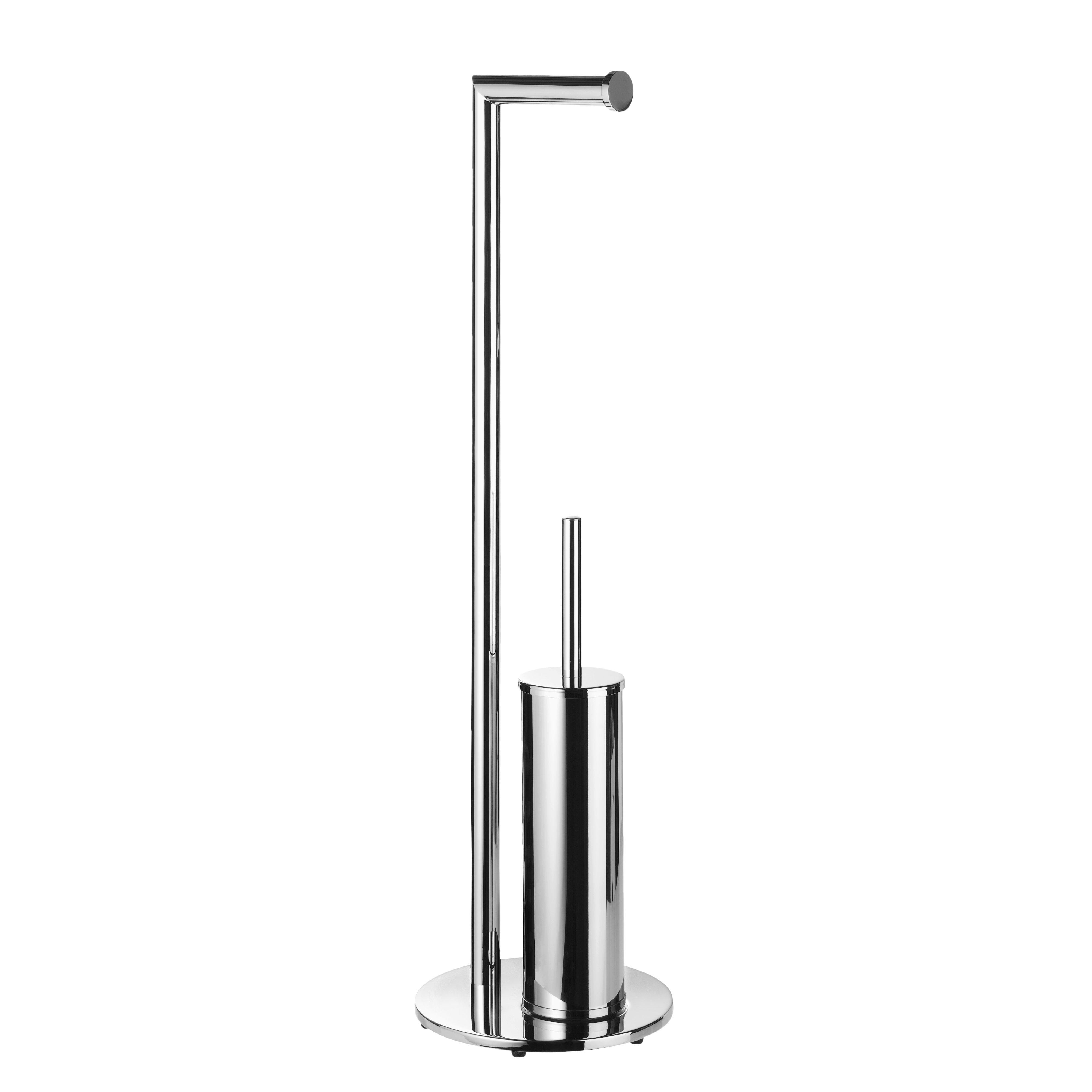 Toiletborstel standaard met rolhouder - Geesa