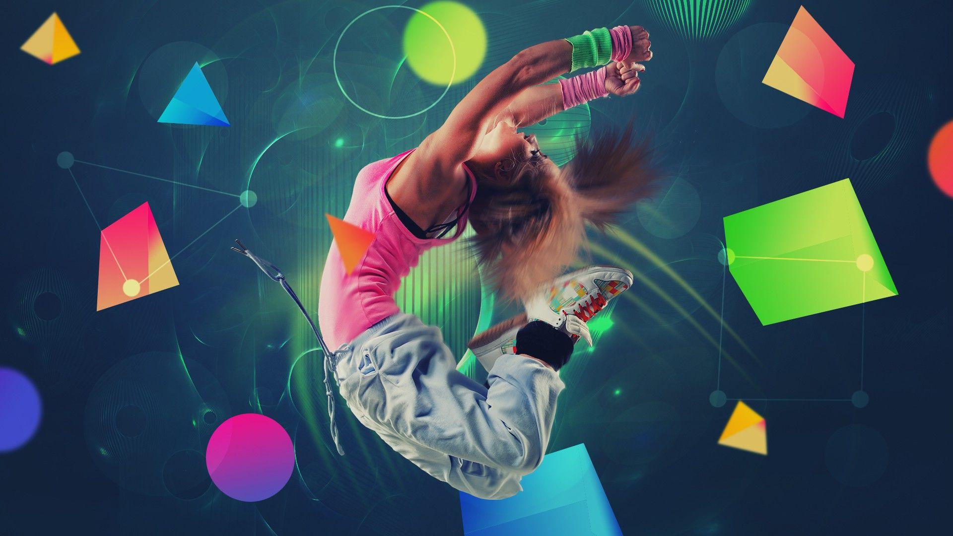 HipHop Girls Dance Wallpaper 3d Photo Zumba Hip