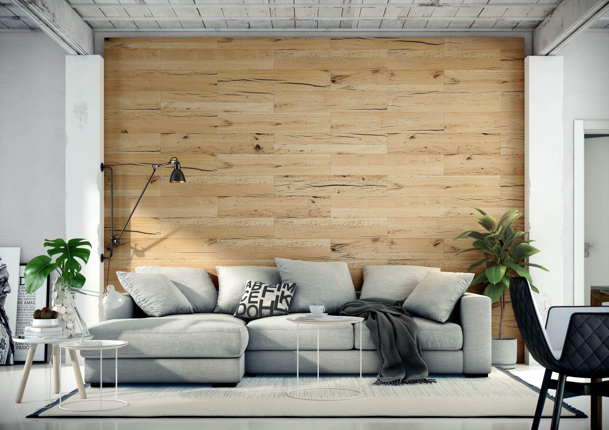 Wandverkleidung Aus Echtholz Eiche Holz Wohnzimmer Wand Mit Holz Verkleiden Wandverkleidung Holz