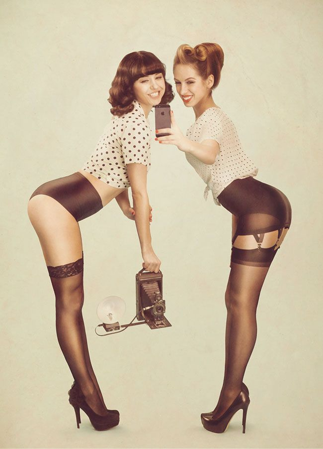 On Phlearn: Behind The Scenes of Newfangled Pinup Shoot