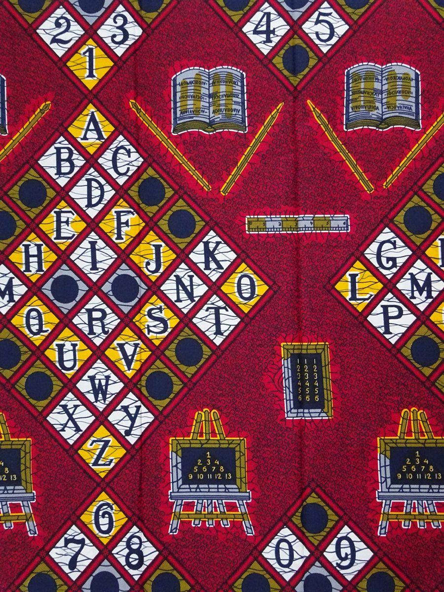 African fabric by the yard ankara fabric by the yard abc African Supplies  African print fabric wax print fa…   African fabric, Printing on fabric,  African wax print